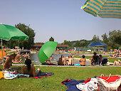 Herrliche Liegewiese - Freizeitgelände am Osterbach