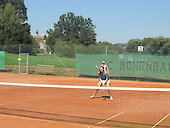 Tennisplätze unmittelbar am Freizeitgelände